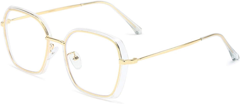 Letuwj Unisex Langlebig Blu-ray Brille Geometrische Formen mit Blaulicht-Filter Anti-Blaulicht Anti-Blaulichtbrille