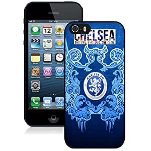 Unique DIY Designed Case For iPhone 5S With Soccer Club Chelsea 03 Football Logo Cell Phone Case