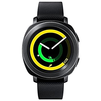 75c223d149a3 Samsung - Gear Sport - Montre connectée - Noir  Amazon.fr  High-tech