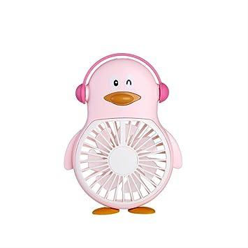 Ventilador de pingüino Mini Ventilador de Carga USB portátil de ...