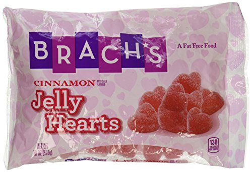 Brach's Cinnamon Jelly Hearts, 12oz Bag