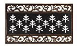 Evergreen Flag 2RMS421 Metallic Scroll Coir Switch Mat Tray, Multi-Colored