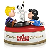 Hallmark Keepsake Ornament: Peanuts 50 Years of A Charlie Brown Christmas with Sound and Motion