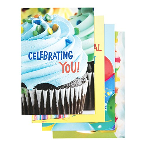 Boxed Cards Christian - DaySpring Birthday Boxed Cards, Bright Birthday, 12 Count