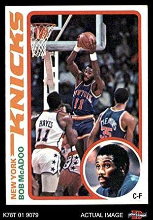 0e010d1ec0a8 1978 Topps   5 Bob McAdoo New York Knicks (Basketball Card) Dean s Cards 5