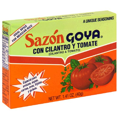 Goya Sazon Con Cilantro Y Tomate, 1.41-Ounce Units (Pack of 36) (Goya Mexican Rice Chicken compare prices)