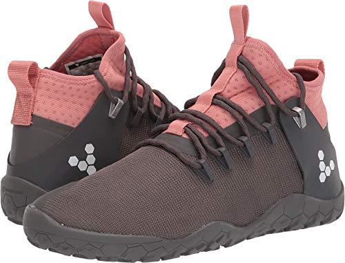 Vivobarefoot Women's Magna Trail Nylon Grey/Pink 40 B EU