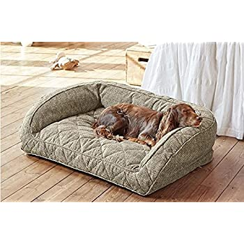 Amazon.com : Orvis Comfortfill Bolster Dog Bed/Large Dogs