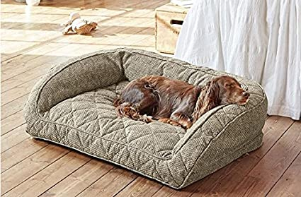 Orvis Comfortfill Bolster Dog Bed/Small Dogs Up to 40 Lbs