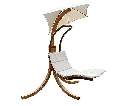 Merveilleux Leisure Season SLU135 Swing Lounge Chair With Umbrella
