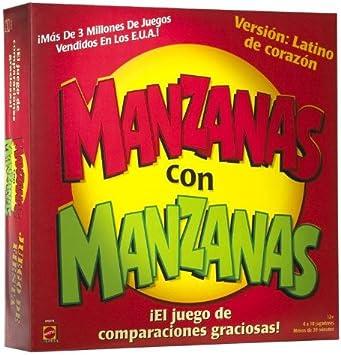 MANZANAS con MANZANAS - El Juego De Comparaciones Graciosas by Mattel: Amazon.es: Juguetes y juegos