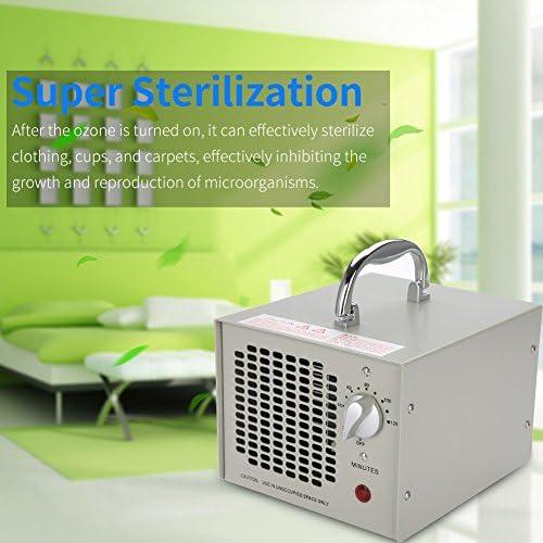 Fattoria Ufficio jianpanxia Generatore di ozono 3500mg // h purificatore dAria di ozono per odori in casa Zona Fumatori Timer 2 Ore Hotel
