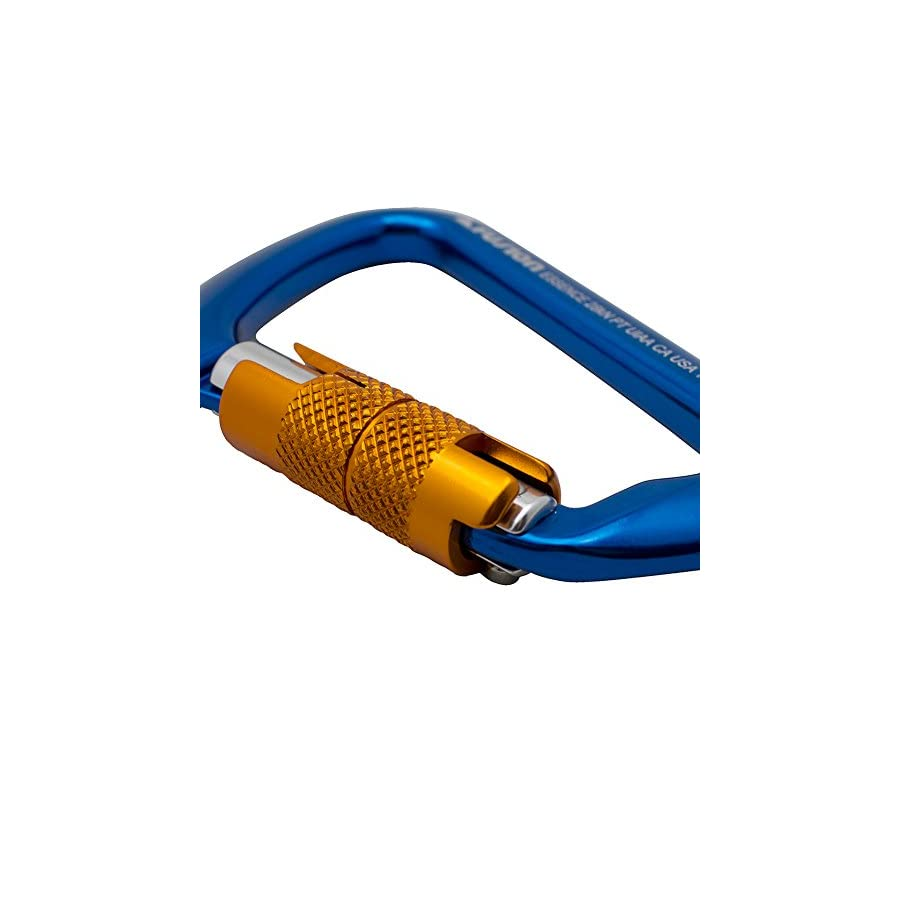 Fusion Essence Modified D Shape Aluminum Auto Locking Carabiner