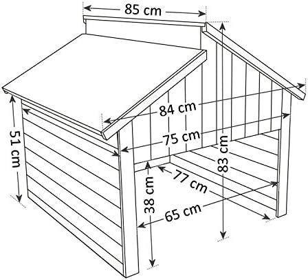 Plan de bâtiment-garage pour Mähroboter avec du garage-absolue Nouveauté
