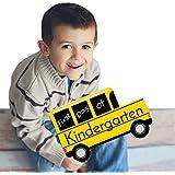 Kindergarten - First Day of School Bus Sign - Back To School Photo Prop