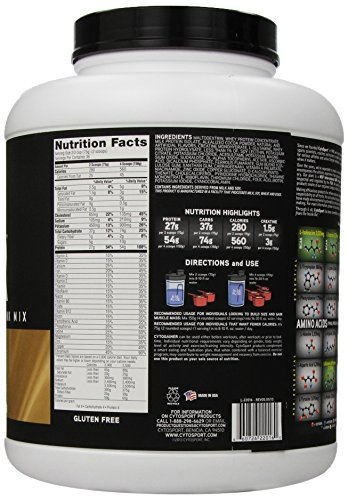 CytoSport Cyto Gainer Protein Drink Mix