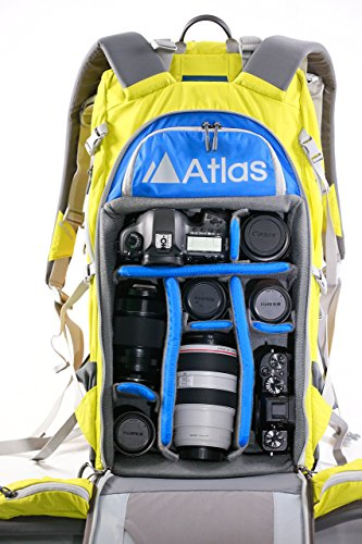 Atlas Athlete Camera Pack (Large/Yellow) - Award Winning Camera Backpacks