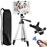 "Best Tripod Adjustable For IPad Minis - Tablet Tripod,PEYOU 42"" inch Portable Lightweight Adjustable Aluminum Review"