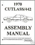 OLDSMOBILE 1970 Assembly Manual 70 Cutlass 442