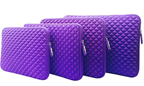 AZ-Cover 12.5-Inch Case Simplicity & Stylish Diamond Foam Shock-Resistant Neoprene
