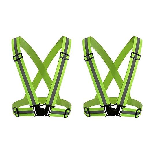 Bandas Reflectantes Cinturón de Seguridad elástico con Bandas ...