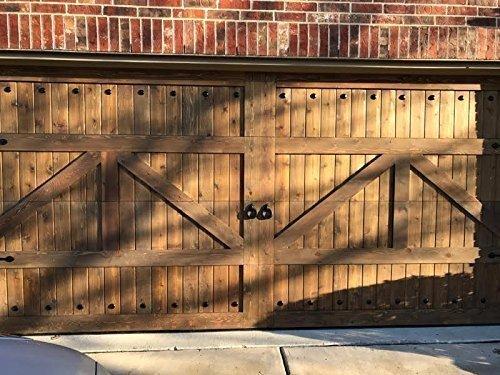 Amazon Com Beautiful Customizable Cedar Garage Doors Handmade