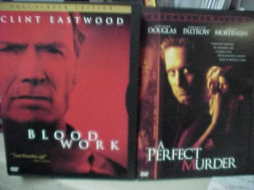Blood Work , a Perfect Murder : Murder Mystery 2 Pack Collection