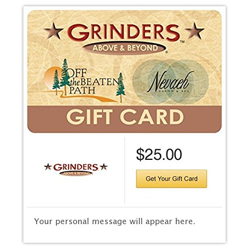 Beyond Gift Card (Grinders Above & Beyond Multibrand Gift Cards - E-mail Delivery)