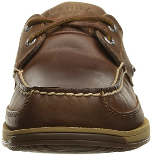 Sperry Top-sider Mens Rent 2-eye W / Asv Bootschoen, Donker Bruin, 8 Ons / Us Size Conversie M Us
