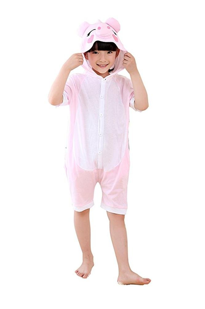 df8dd1054 Amazon.com: Dobelove Children Animal Cosplay Costume Onesie Summer Shorts  Sleepwear: Clothing