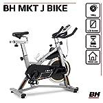 BH-Fitness-MKT-J-Bike-Bicicletta-Indoor-Unisex–Adulto-Grigio-Taglia-Unica