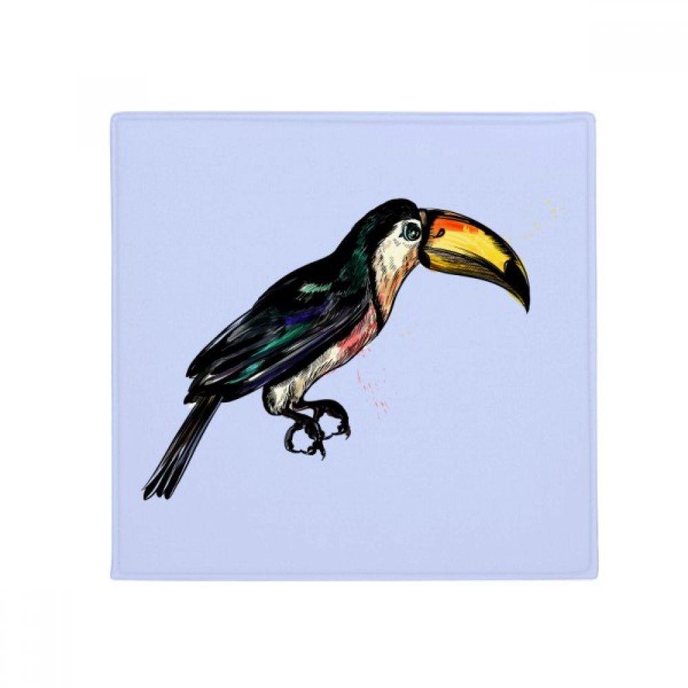 DIYthinker Painting Toco Tropical Bird Anti-Slip Floor Pet Mat Square Home Kitchen Door 80Cm Gift