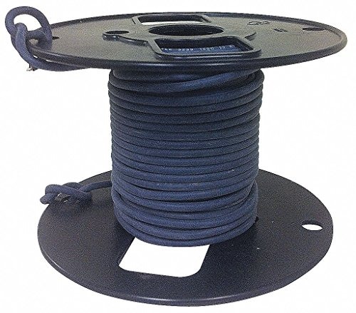ROWE 50 ft, 5 kVDC Lead Wire with HV Cable Type and 14 AWG Wire Size, Black