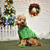 PAWZ Road Elf Pet Costume Christmas Clothes for Cats and Dogs