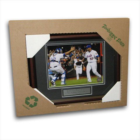 Image Sunwear MLB New York Mets Johan Santana First No Hitter Tree Hugger 8 x 10 Unsigned Framed ()