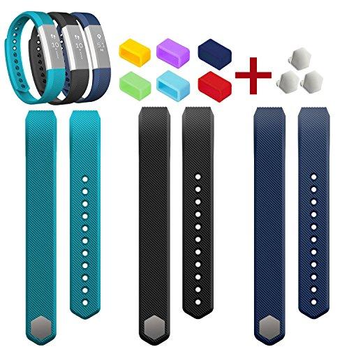 Fitbit Alta Ersatzarmband, Bluesim komfortabler buntfarbige Sport Fitness Fitbit Alta Ersatzarmband Ersatzschweißarmband Armband Ersatzband Sport-Uhrenarmband Eratzschweißband mit kostenfreien Verschluss für Fitbit Alta