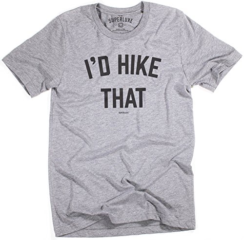 Superluxe™ Mens Id Hike That Tri-Blend T-Shirt, Grey Triblend, - Mens Clothing Rei