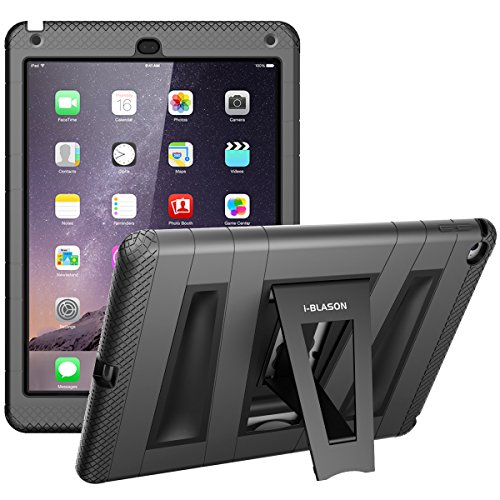 i-Blason ArmorBox KickStand Case with Built-in Screen Protector for iPad Air