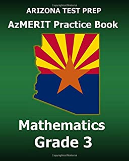 ARIZONA TEST PREP AzMERIT Practice Book English Language Arts ...