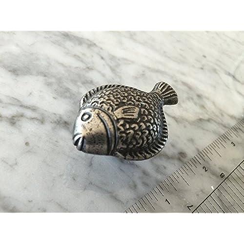 Genial Sonoma Cabinet Hardware Nautical Fish Knob Antique Pewter NEW Kitchen  Custom Knobs