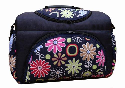 TP-16 Wickeltasche PIA von Baby-Joy XXXL Übergröße Braun LEO Windeltasche Pflegetasche Babytasche Tragetasche