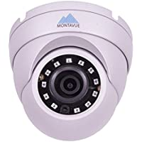 Montavue MTE4870 2K 4MP HD IP Dome Camera with Color Night Optics & 130ft IR Night Vision