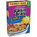 Raisin Bran Crunch Cereal, 24.8 Oz by Kellogg Company