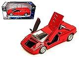 New 1:24 W/B SPECIAL EDITION - RED LAMBORGHINI DIABLO Diecast Model Car By Maisto