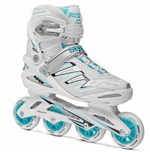 ジュース略奪甘やかすRoces Womens ZYX W Fitness Inline Skatesブレードアートホワイト/ミント400806
