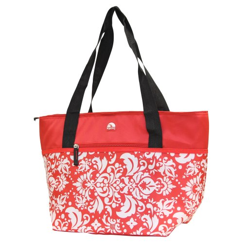 Igloo Insulated Shopper Cooler Tote Bag - Red ()
