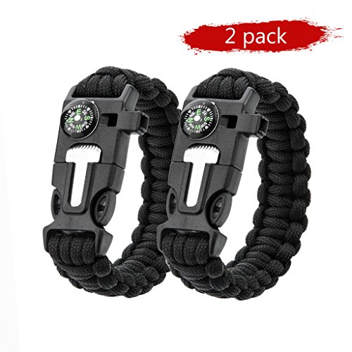 Survival Paracord Bracelet Emergency Long