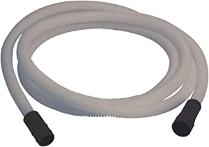 Eastman 69028 69009 Dishwasher Drain Hose Extension, 12 Ft Length, White, Feet