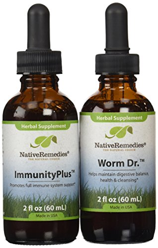Native Remedies Worm Dr. and ImmunityPlus ComboPack