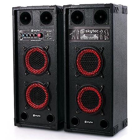 Skytec SPB-26 Altavoces Woofer - activo y pasivo, 600W, 15cm: Amazon.es: Instrumentos musicales